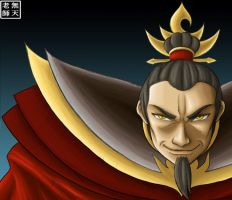 Fire Lord Ozai by Mutenroushi