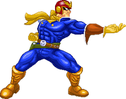 Captain Falcon by Real-Warner