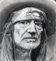 Willie Nelson by Gemini58