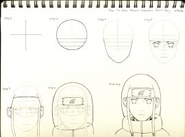 How to Draw Naruto Characters - Part 1 Neji by ByakuSharingan1017
