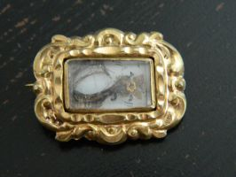 Mourning Brooch by Stock-Karr