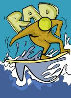 Surfer Dude by Pattoon