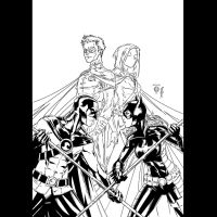 Red Robin 10 Marcus To_My INKS by JamesLeeStone