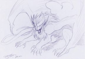 Lion Dragon Thing by CosmicVirus