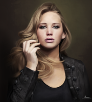 jennifer lawrence by fawwaz1