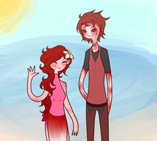 Agnes, Achilles little sister (-Asks, Rps Open-) by Ask-Explorers