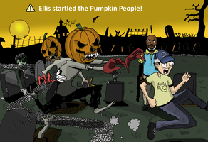 Ellis and the Pumpkin People by Harkaiden