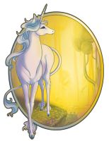 The Last Unicorn 2 by ladymeow