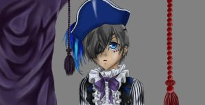 Ciel Phantomhive - Book of Circus (Color) by TheRedAuthor
