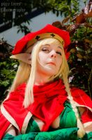 Queen's Blade - Alleyne by pure-faces