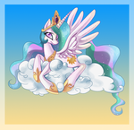 Princess Celestia :: A Sweet Day by AnthoCat