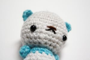 Tiny Panda Bear by tinyowlknits