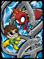 Spidey vs Doc Oc by ckeiji