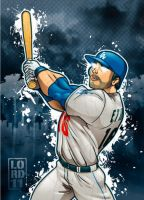 Andre Ethier by lordmesa