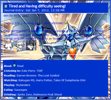 Blue-Eyes Shining Dragon Journal CSS by AESD