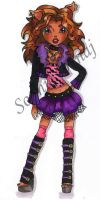 Clawdeen Wolf by SweetSophie