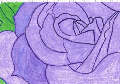 Purple Rose by jessyho862010