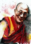 Dalai Lama by lloyd-art