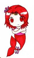 Mermaid Chibi Coral by AsianBunnyZ7