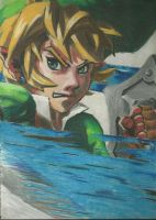 Link wields a sword by dark-ishida-lover