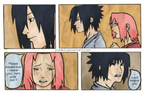 He isn't an Uchiha - sasusaku by polale21