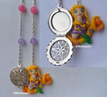 Necklace with Rapunzel :) by Elfetta2007