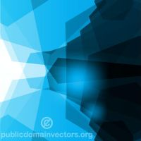 Abstract blue vector background by publicdomainvectors