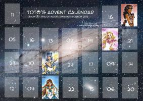 Advent Calendar 2013 by Toto-the-cat