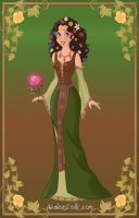 Disney Heroine: Earth Element Goddess by moonprincess22