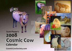 Cosmic Cow Calendar by scott-plaster