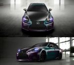(Chameleon Paint #2) Lexus IS 2014 by ocue8ball