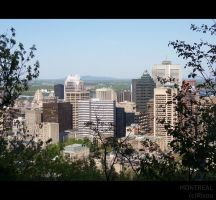 Montreal View 1 by Rixou