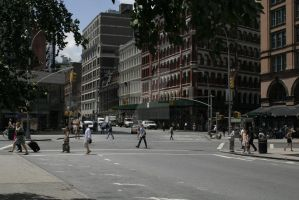 Lafayette Street and 8th Street by psychowolf21