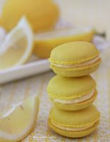 Homemade Lemon Macaroons (w/recipe) by theresahelmer
