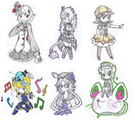 [Requests] Traditional Batch 1 by Scribbling-Mima