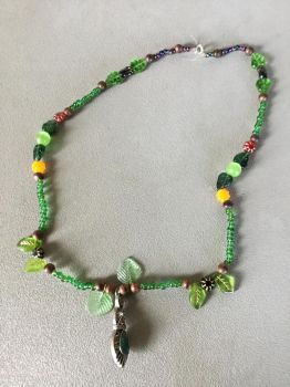 Necklace Of The Goddess Of Nature by MoonRaiserDragon