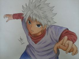 Killua by MiioChann