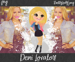 Demi Lovato PNG by PrettyLadySwag