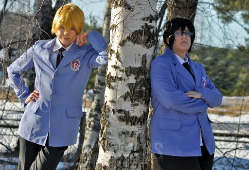 Tamaki and Kyoya - The King and Shadow King by VersusMemories