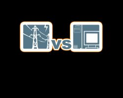Electricity vs Computer by The-Chez