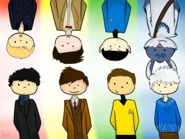 Rise of the WhoLock Trekkies by Shahdar