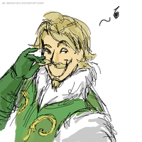 Sneaky Fandral by GoreChick