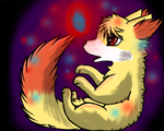 Contest entry: Fennekin by Accalialove