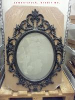 mirror frame by lemon-stock