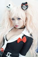 Yup, we are all one and the same - Junko Enoshima by MonicaWos