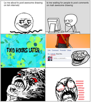 Old Rage Comic by lazlotheraccoon