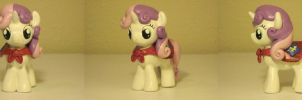 Sweetie Belle CMC MLP Custom Sculpture by Blackout-Comix