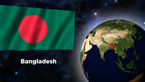 Flag Wallpaper - Bangladesh by darellnonis