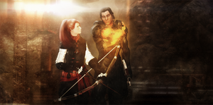 Jane Shepard and Connor Kenway by Alexasunny