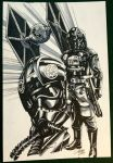 TIE Pilot and Fighter by Titancross